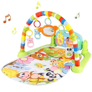 Baby Multifunctional Play Rug: Crawling, Music, and Gym - mybabyflame