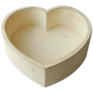 Baby Photography Props Wooden Heart Shape Box - mybabyflame