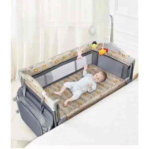 Baby Playpen Change Station Next To Me Crib - mybabyflame