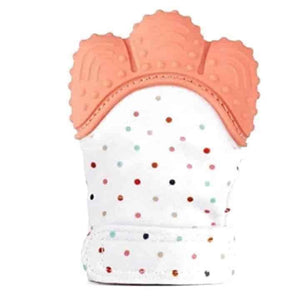 Baby Teething Mitten Gloves 2 Piece Set - mybabyflame