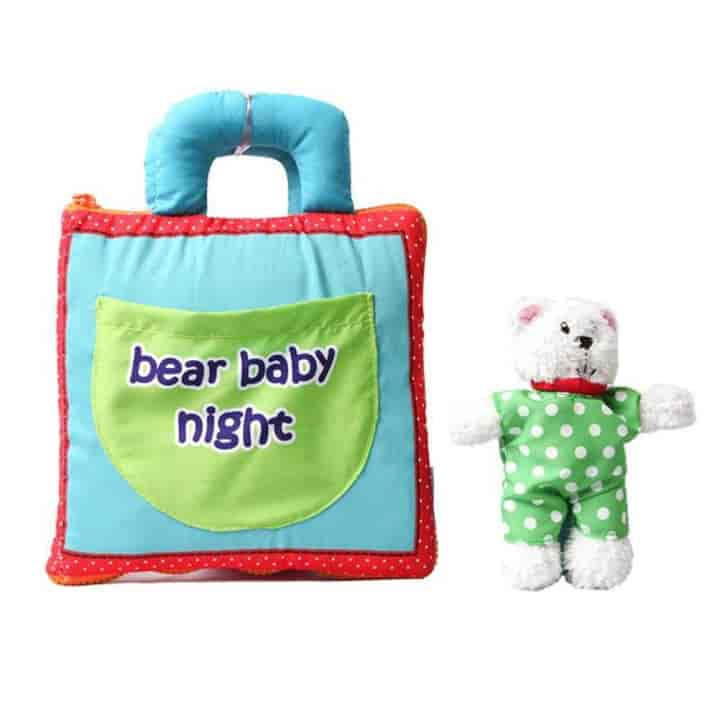 Baby Cloth Book Early Development Educational Toys - mybabyflame
