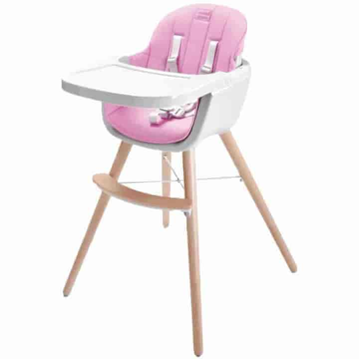 Wooden Leg Baby High Chair - mybabyflame