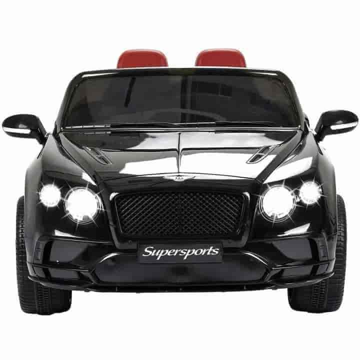 Bentley Continental 12V Brown Leather Supersports Children Electric Ride on Cars - mybabyflame