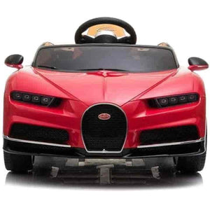 Bugatti Chiron 12V Kids Electric Toy Ride on Cars With Remote Control - mybabyflame