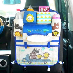 Cartoon Car Back Seat Storage Bag Organizer - mybabyflame