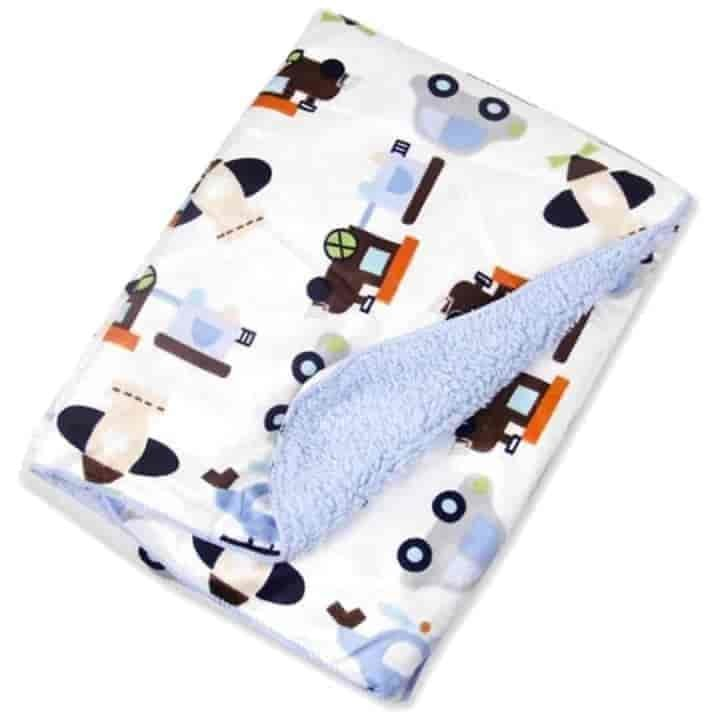 Cartoon Fleece Baby Blanket - mybabyflame