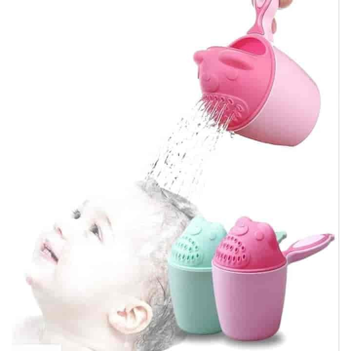 Baby Shampoo Washing Hair Cup 2Pc - mybabyflame