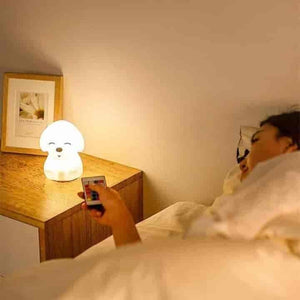 Children 16 Colors Dog LED Night Light - mybabyflame