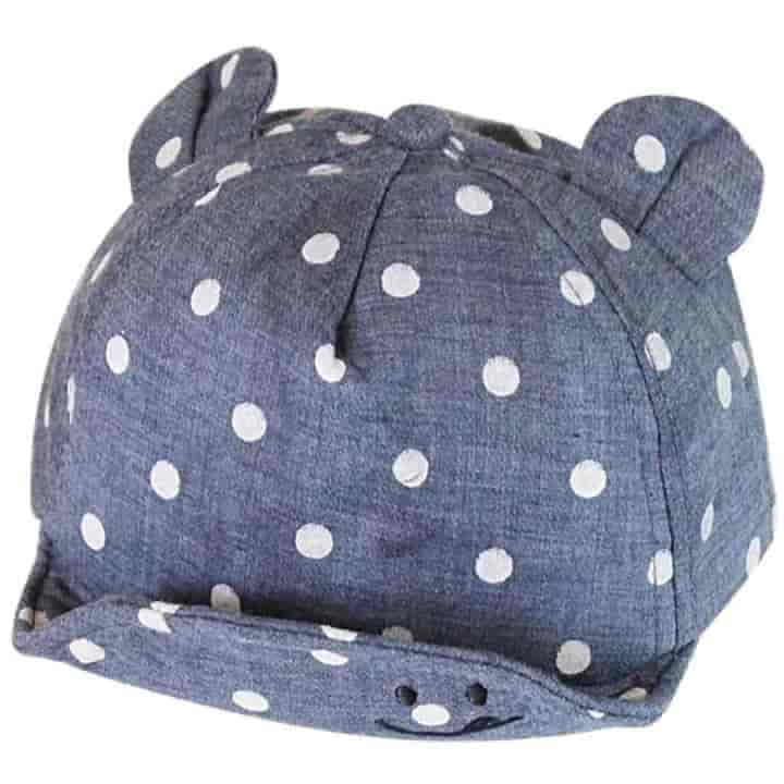 Cute Ear Dot Children Sun Hats 2Pc - mybabyflame
