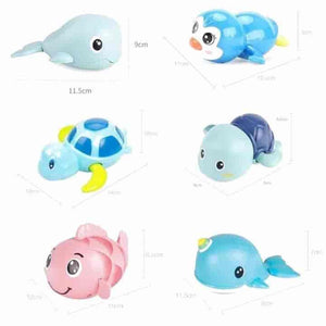 3PCS Funny Baby Cartoon Swim Turtle Bath Toys - mybabyflame