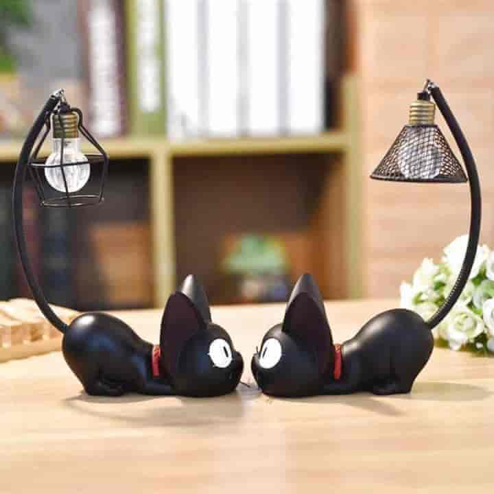 Magic Led Cat Children Bedside Lamp - mybabyflame