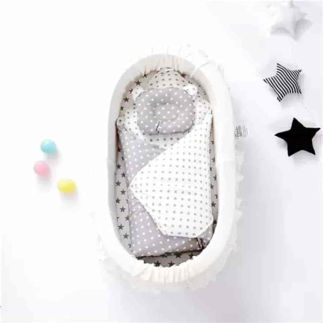 Baby Cradle Style Water-Proof Portable Crib - mybabyflame