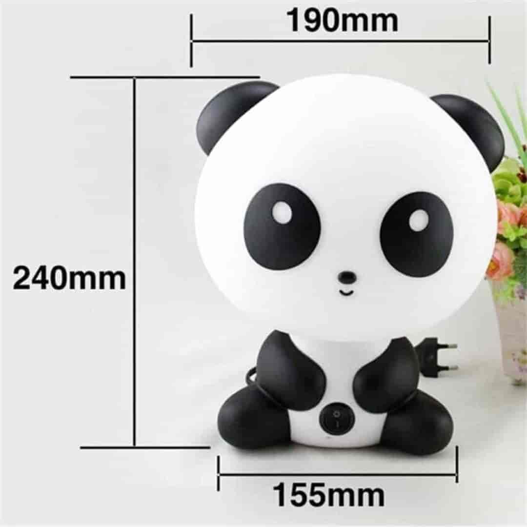 Cartoon Cute Panda Children Bedside Lamp - mybabyflame