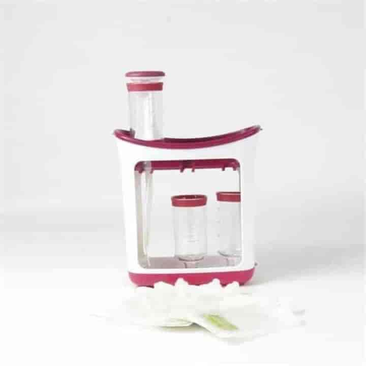 DIY Baby Food Squeeze Station - mybabyflame