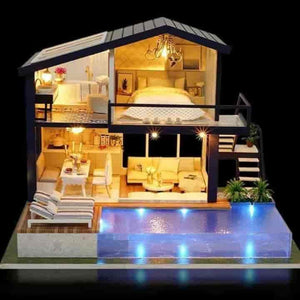 DIY  Miniature Kids Doll House - mybabyflame