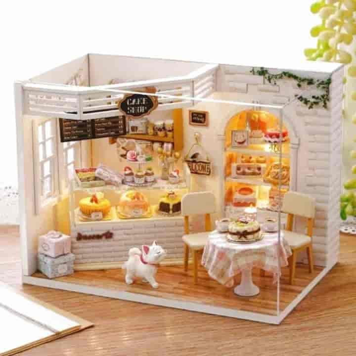 DIY Furniture Doll House For Kids - mybabyflame