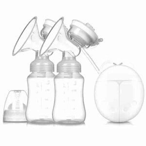 Double Bilateral Electric Breast Pump - mybabyflame