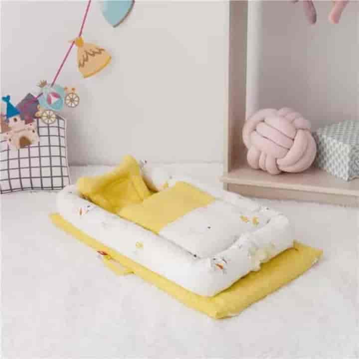 Double Gauze Breathable Baby Nest Cribs - mybabyflame