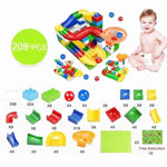Duploed Funnel Children Building Blocks - mybabyflame