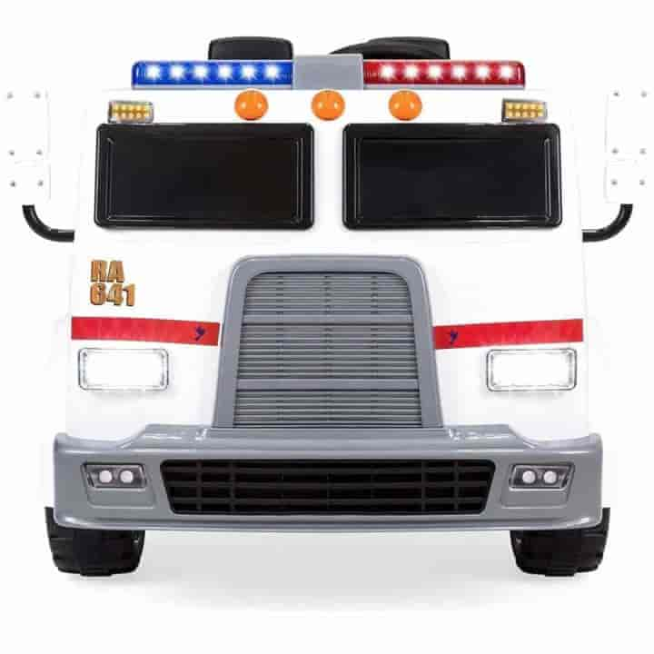 Electric Fire Truck Ride on Cars for Kids 24V - mybabyflame