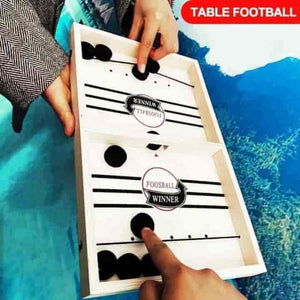 Fast Hockey Sling Board Game For Children - mybabyflame