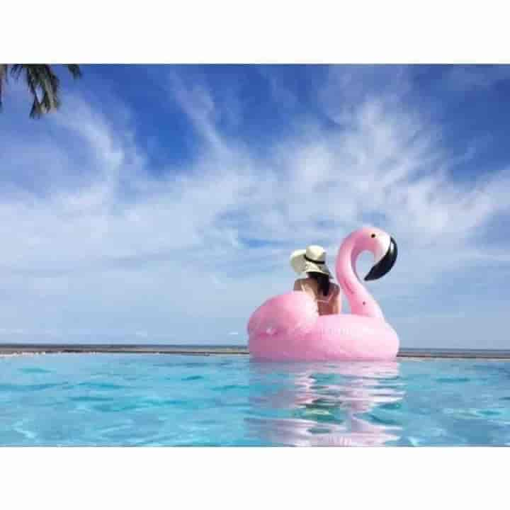 Giant Inflatable Flamingo Unicorn Kids Pool Float - mybabyflame
