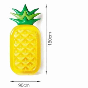 Inflatable Pool Float Pineapple Raft For Kids - mybabyflame