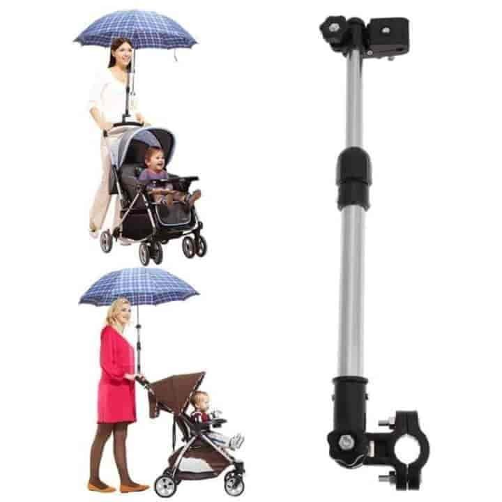 Mount Stand Baby Stroller Accessories Umbrella Holder - mybabyflame