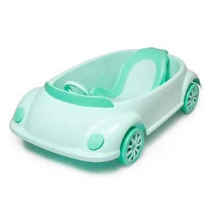 Movable Infant Car Shape Baby Bath Tub - mybabyflame