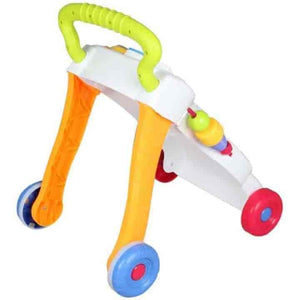 Multicolour Baby Walker Trolley - mybabyflame