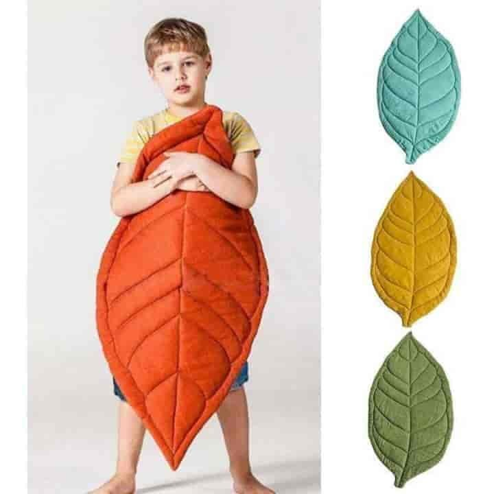 Leaf Shape Soft Crawling Baby Play Mat - mybabyflame