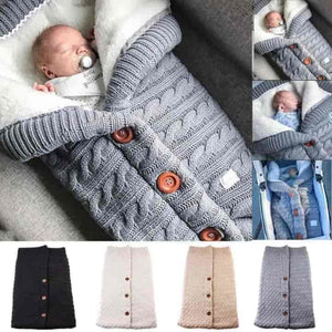 Newborn Baby Swaddle Winter Warm Sleeping Bags - mybabyflame