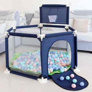 Playpen Fenced Ball Pool Kids Tent - mybabyflame