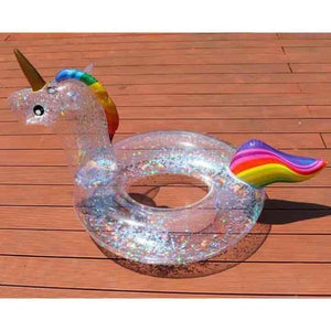 Rooxin 2020 Unicorn Flamingo Kids Inflatable Pool Float - mybabyflame