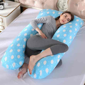 Sleep Support U-Shape Pregnancy Pillows - mybabyflame