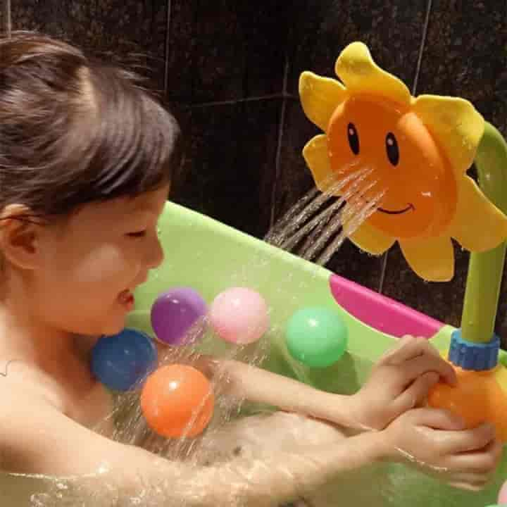 Sunflower Child Shower Head - mybabyflame