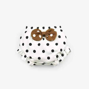Toddler Cotton Baby Panties Bow Dots Unisex Underwear - mybabyflame