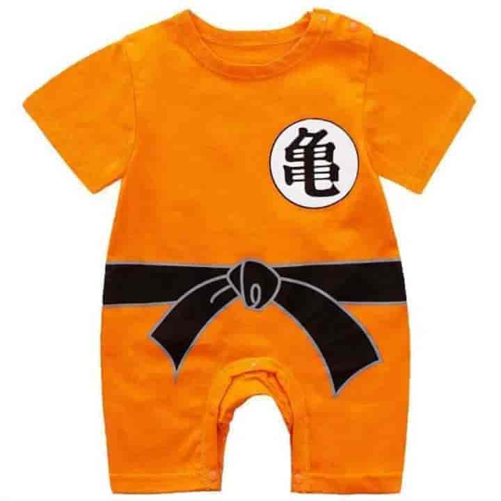 Unisex Newborn Baby Climbing Cartoon Costume Rompers - mybabyflame