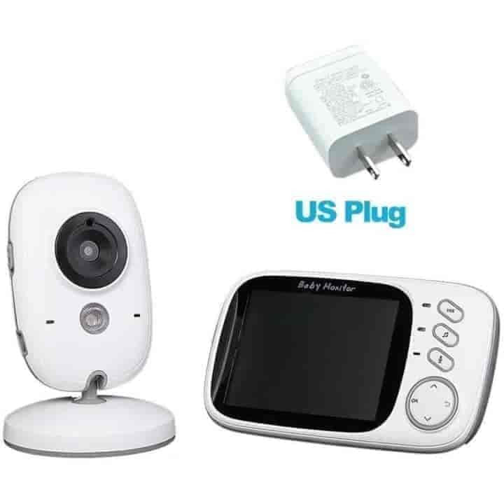 Video 2.4G LCD Wireless Baby Monitor - mybabyflame