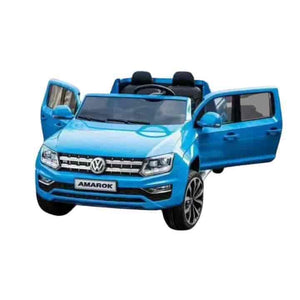 Volkswagen AMAROK 12V Kids Electric Ride On Cars - mybabyflame