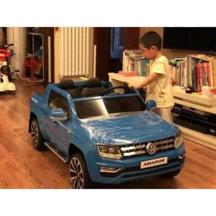Volkswagen AMAROK 12V Electric Smart Ride on Cars for Kids - mybabyflame