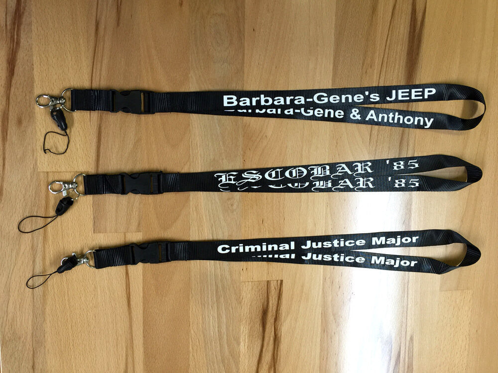 Freshly Printed Lanyards Ready To Ship!