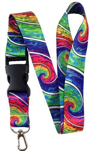 Brand New Tie Dye Lanyards In Stock!