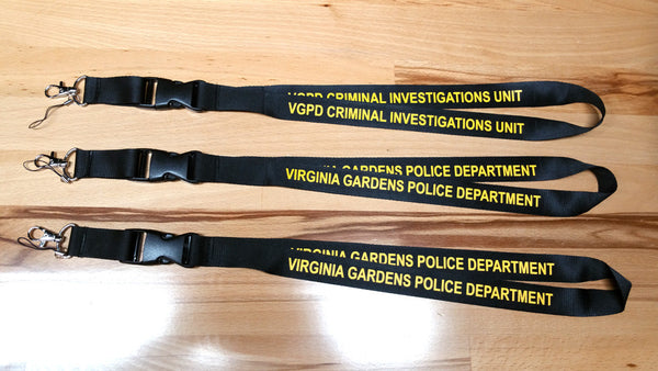 Lanyards For Police Departments