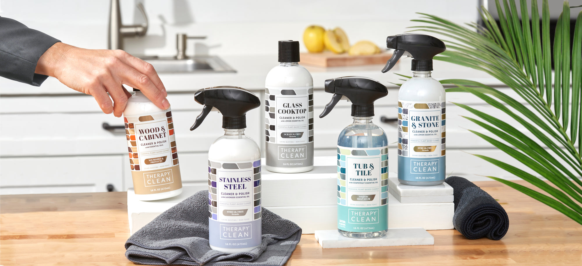 therapy clean household cleaning products