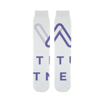 Lattitude Fitness Logo Sublimation Tube Sock