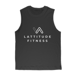 Lattitude White Premium Adult Muscle Top