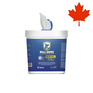 Bull wipes tub made in canada