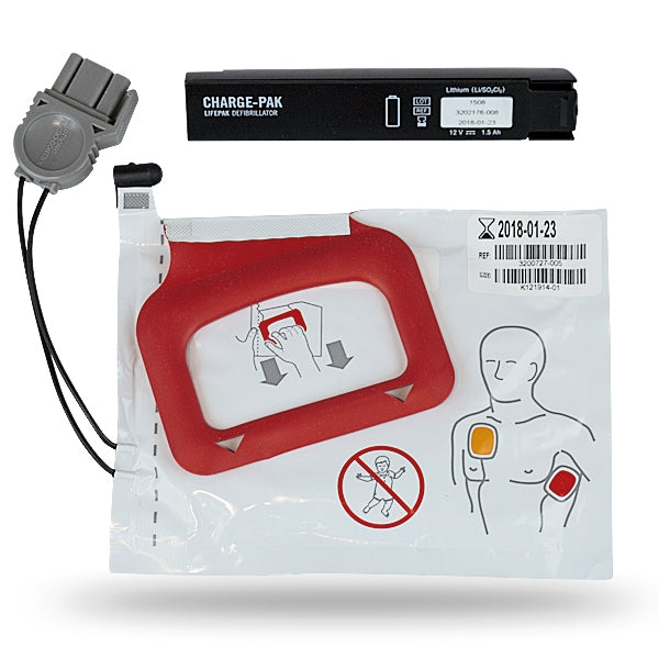 Stryker Physio-Control LIFEPAK CR Plus Replacement Kit for Charge-Pak