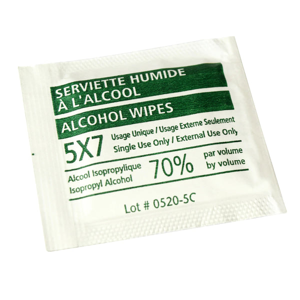 Sanfacon 70% Alcohol Wipes 5